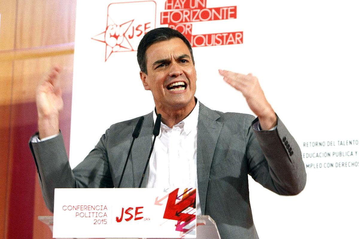 El secretario general del PSOE (FOTO:EFE)
