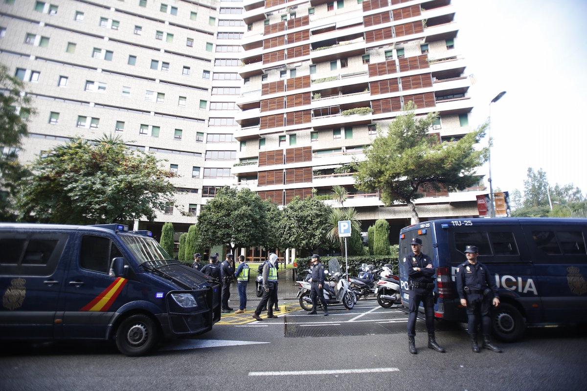 Domicilio de Jordi Pujol y Marta Ferrusola. (Foto: EFE)