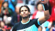 Rafa Nadal celebra una victoria (Getty).