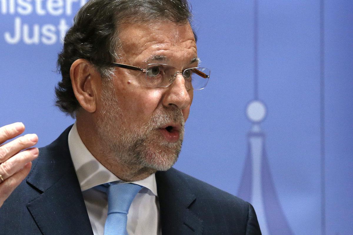 Mariano Rajoy en el acto de Alicante (Foto: Efe)