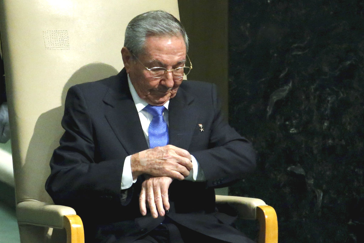 Raúl Castro (Foto: REUTERS)