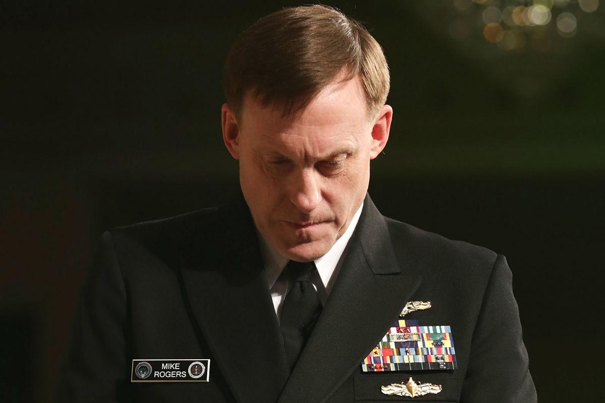 Michael S. Rogers, director de la NSA. (Foto: AFP)