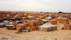 Vista general de los campamentos saharauis.