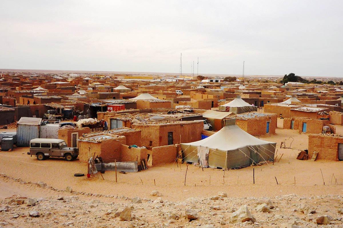 Resultado de imagen de campamentos saharauis