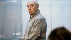 El terrorista Santi Potros, durante uno de los juicios en la Audiencia.