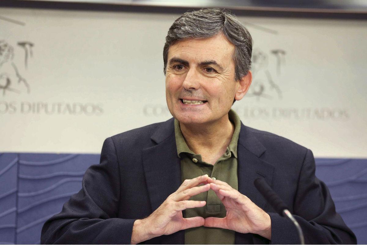 Pedro Saura, portavoz de Hacienda del PSOE. (Foto: EFE)