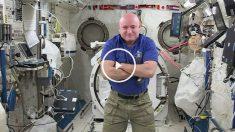 Scott Kelly regresará a casa cuando cumpla un año en órbita.