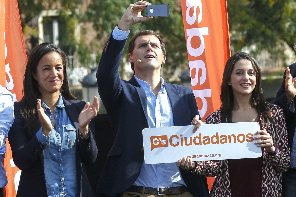 Albert Rivera en el acto celebrado en Madrid (Foto: Efe)