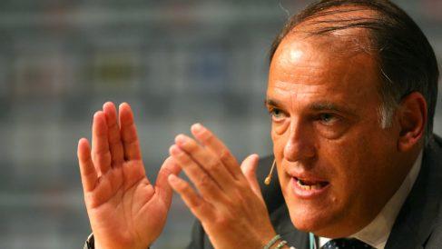 Javier Tebas, presidente de la LFP. (Getty)