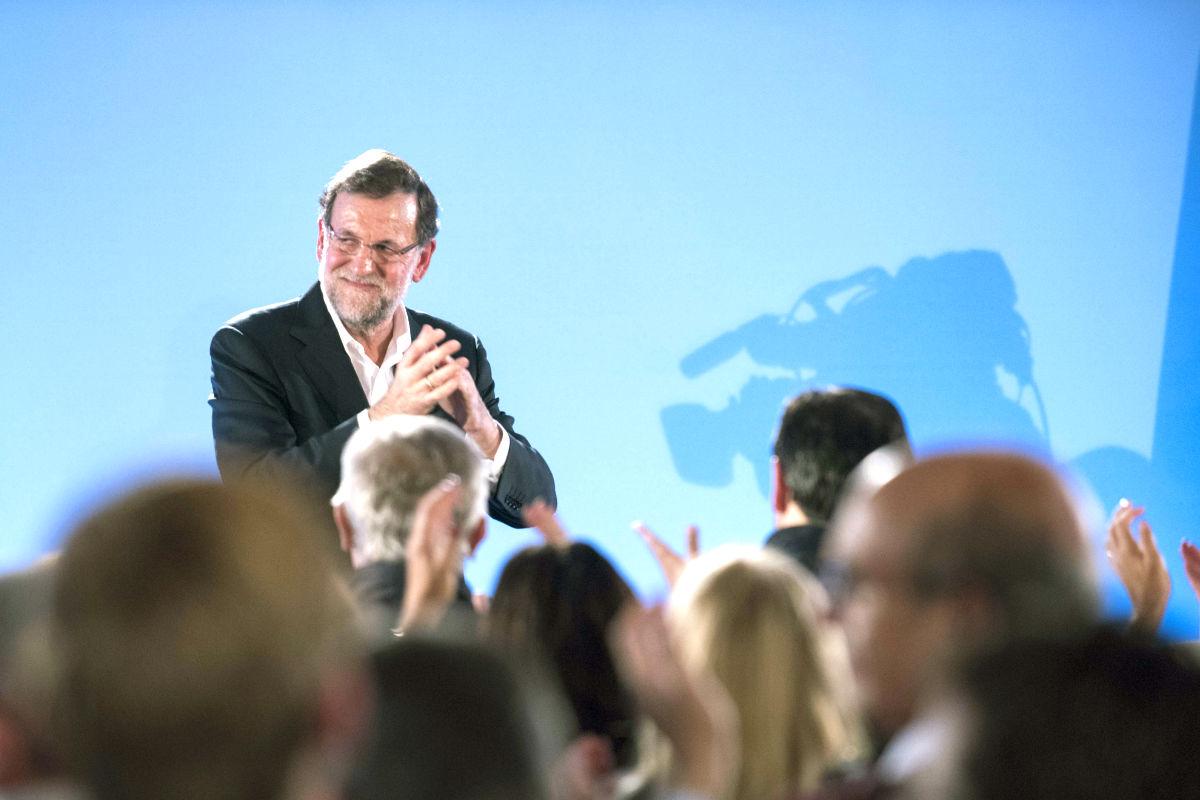 Mariano Rajoy en el acto celebrado en Toledo (Foto: Efe)