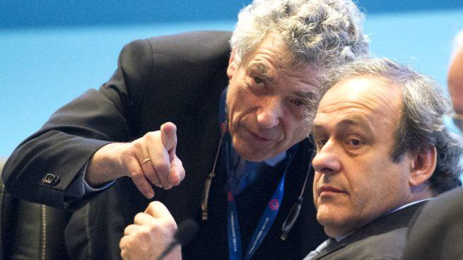 Villar-Platini-UEFA