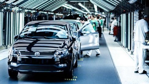 Fábrica de Volkswagen en Navarra (Foto: Volkswagen España).