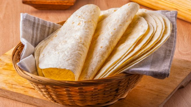 Tortillas de maíz sin gluten
