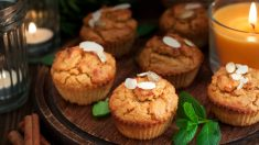 Receta de Carrot cupcakes sin gluten