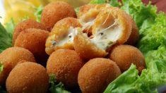 Receta de Croquetas crujientes de roquefort y nueces sin gluten