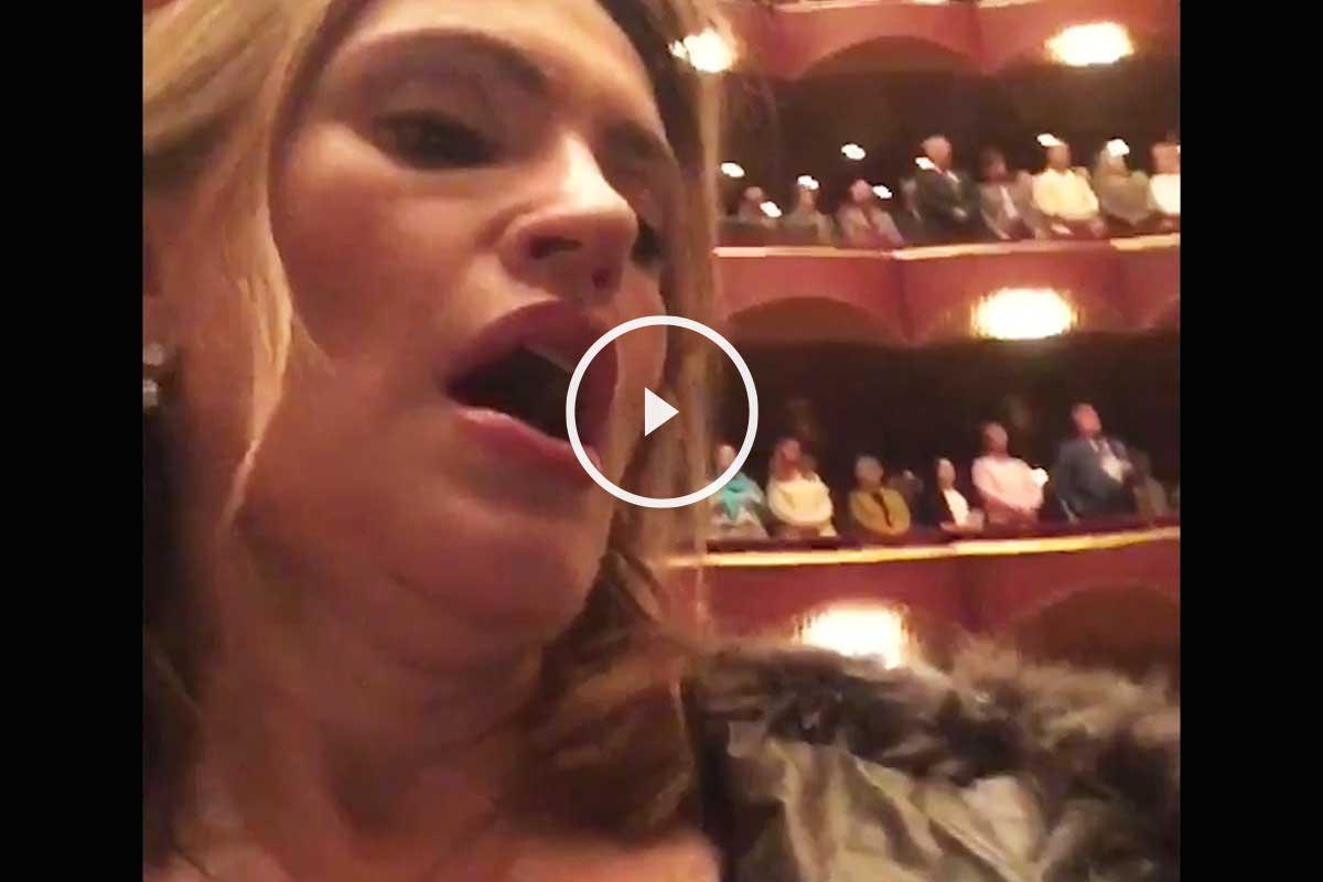 La soprano española Ainhoa Arteta.