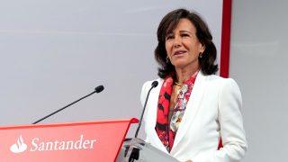 La presidenta del Santander, Ana Patricia Botín.