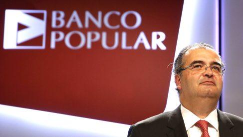 El presidente del Banco Popular, Angel Ron. (Foto: EFE)