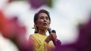 La líder birmana, Aung San Suu Kyi. (Foto: Getty)