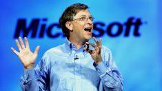 El fundador de Microsoft y actual hombre más rico del mundo, Bill Gates (Foto: GETTY).