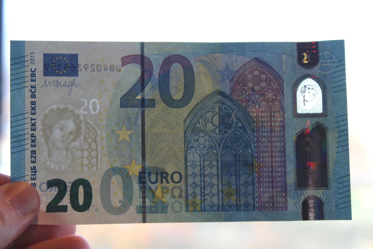 Billete de 20 euros (Foto: GETTY)