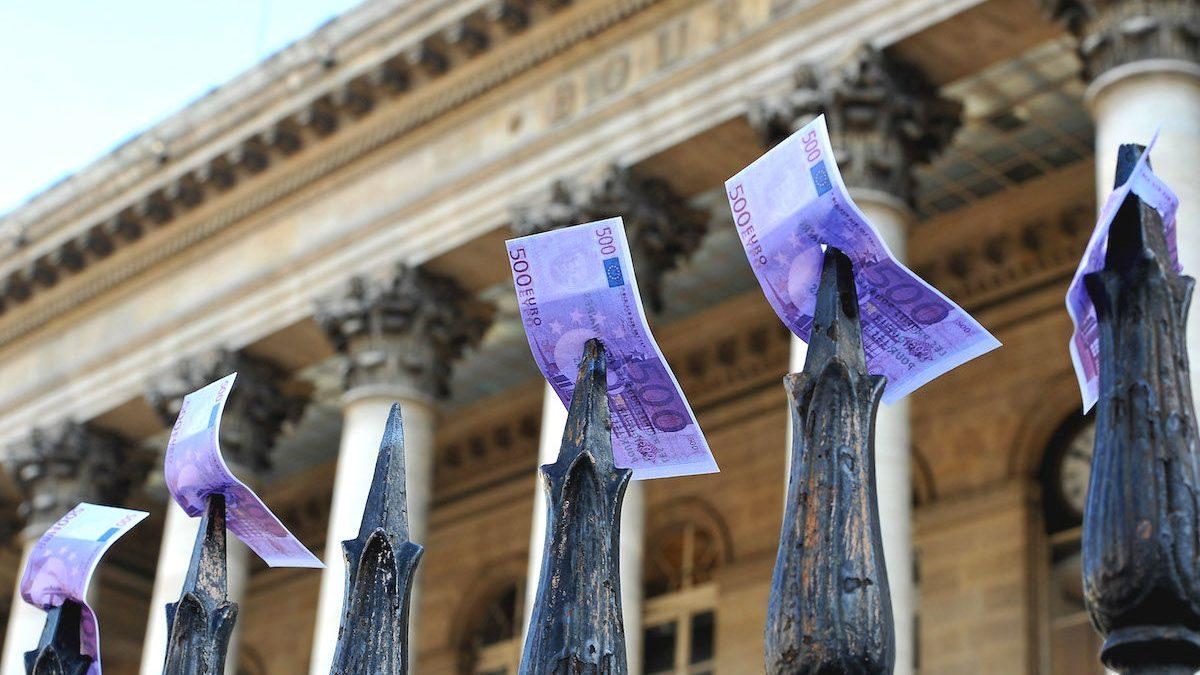 Bolsa de París (Foto: GETTY)