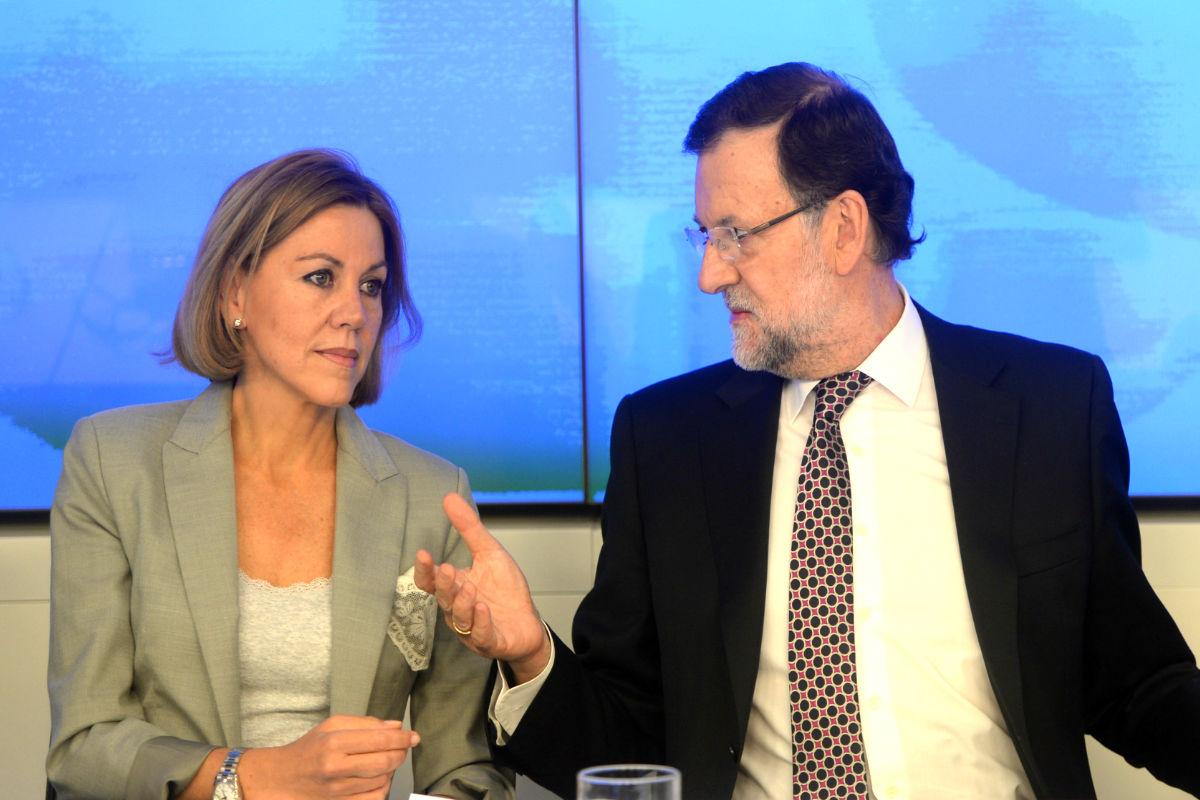 María-Dolores-De-Cospedal-Mariano-Rajoy