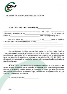 Petición de orden por escrito (pinchar en la imagen para ampliar).
