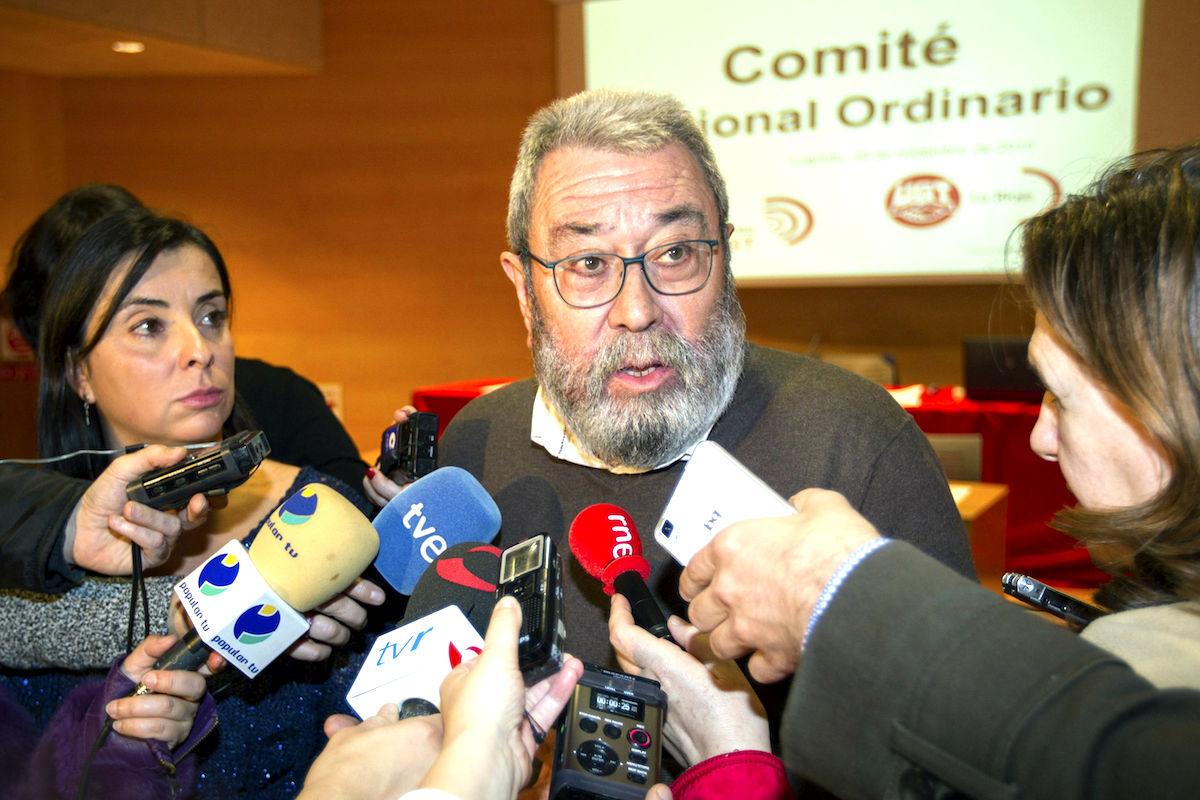 El secretario general de UGT, Cándido Méndez. (Foto: EFE)