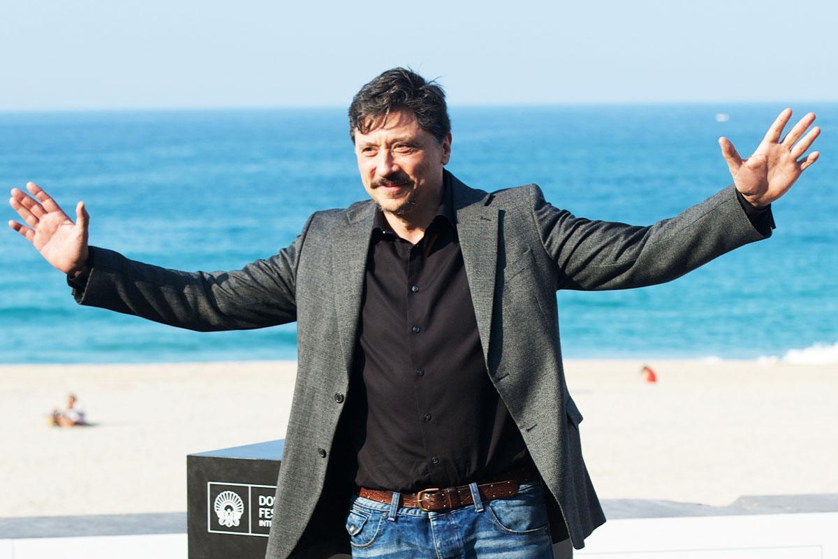 Carlos Bardem, durante una presentación en San Sebastián (Foto: Getty)