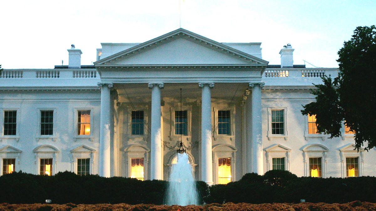 Fachada de la Casa Blanca. (Foto: GETTY)
