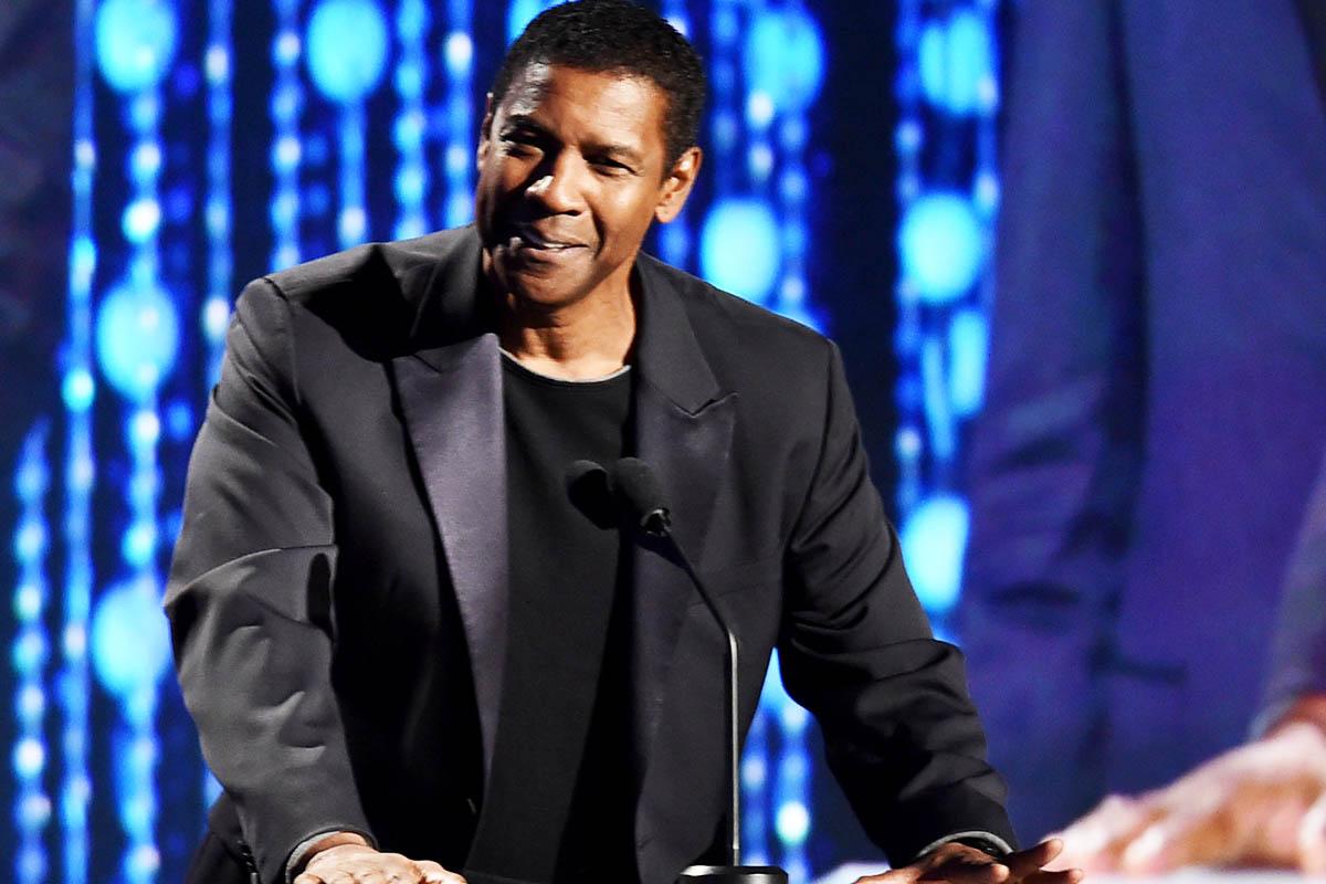 Denzel Washington, durante una reciente gala en Hollywood (Foto: Getty)