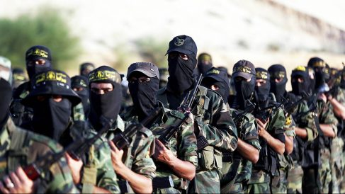 Yihadistas entrenando con el ISIS. (Foto: Getty)