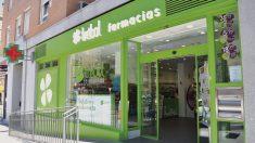 Farmacia Trébol en la localidad madrileña de Fuenlabrada.