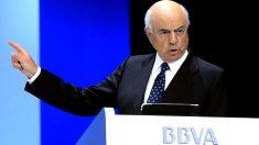 El presidente de BBVA, Francisco González. (EFE)