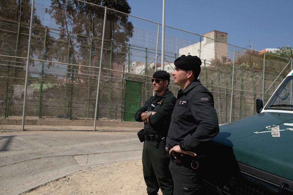 Guardia Civil patrullando. (Foto: Getty)