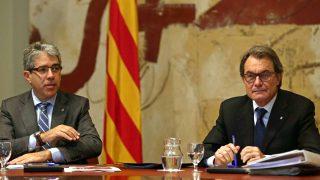 Francesc Homs y Artur Mas (Foto. Efe)
