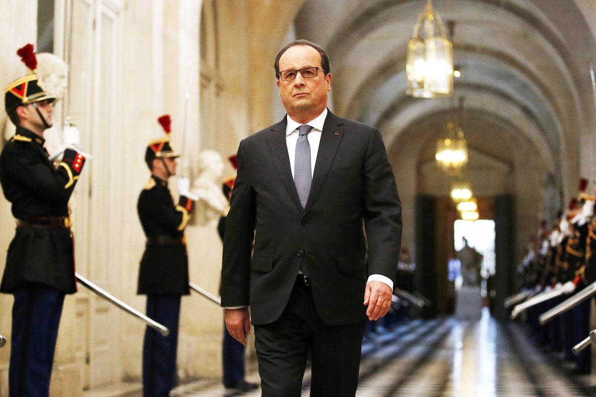 François Hollande está decidido a liderar la ofensiva contra los terroristas sobre el terreno (Foto: Reuters)