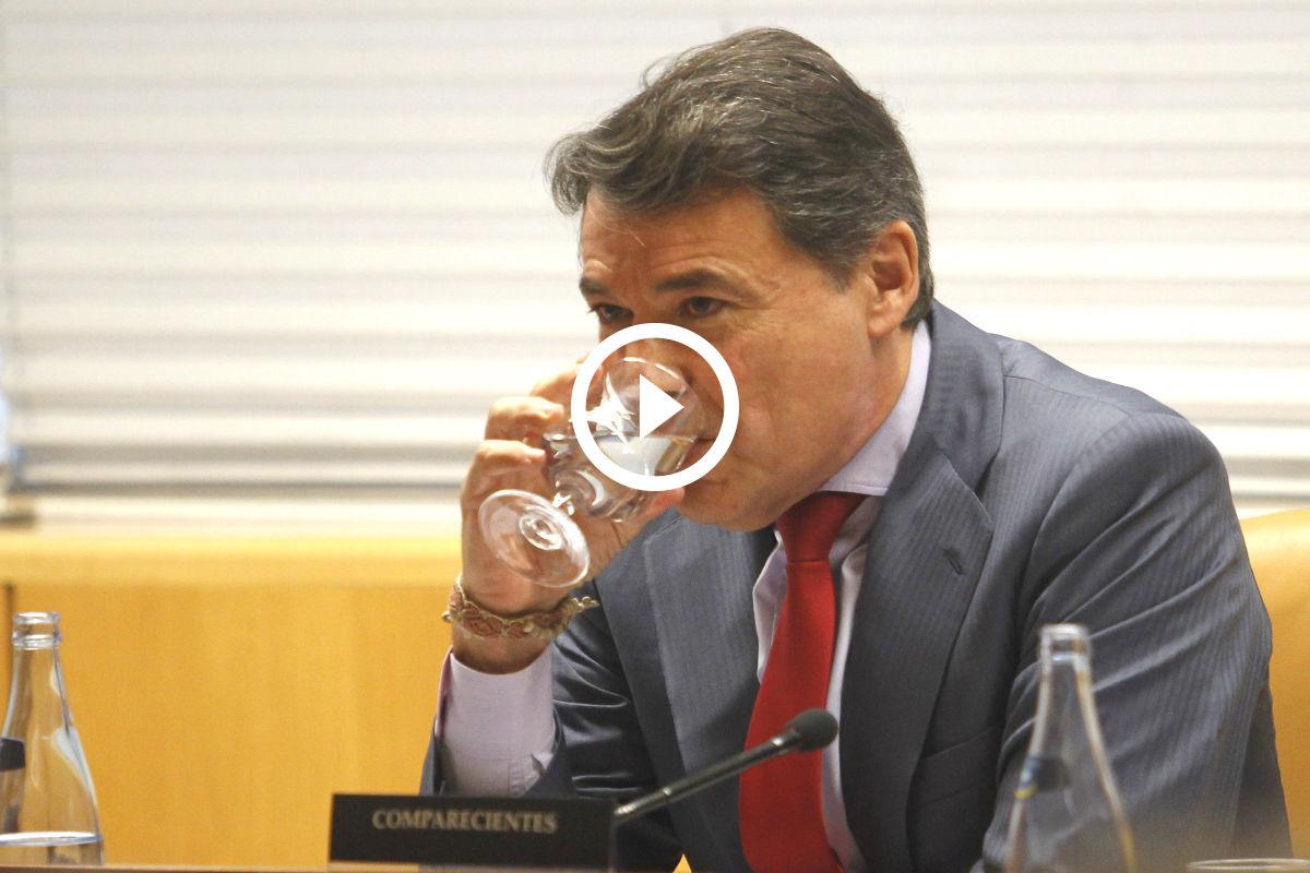 Ignacio González en la comisión de investigación sobre corrupción de la Asmblea de Madrid (FOTO: EFE)