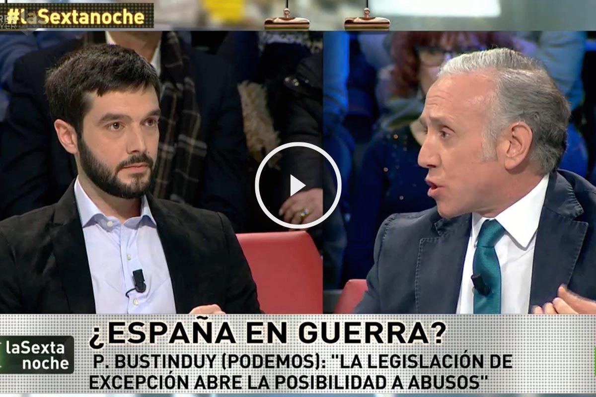 El periodista Eduardo Inda, en La Sexta Noche