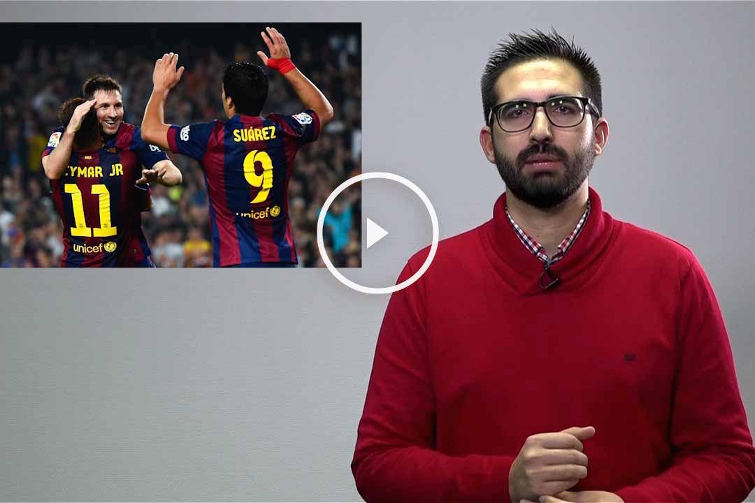 La lesión de Messi ha hecho mejores a Neymar y Luis Suárez