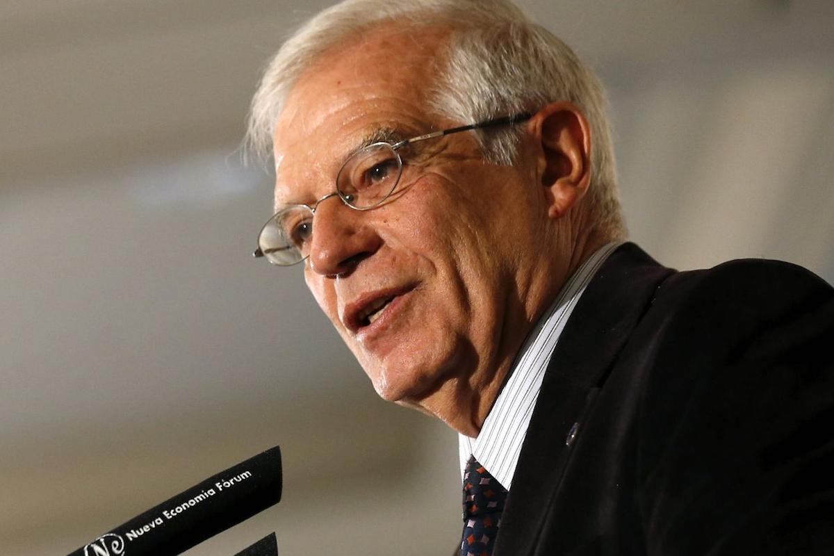 José Borrell, Ministro de Exteriores.