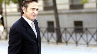 Josep Pujol Ferrusola llegando a la Audiencia Nacional para declarar como imputado ante el juez De la Mata. (Foto: EFE)