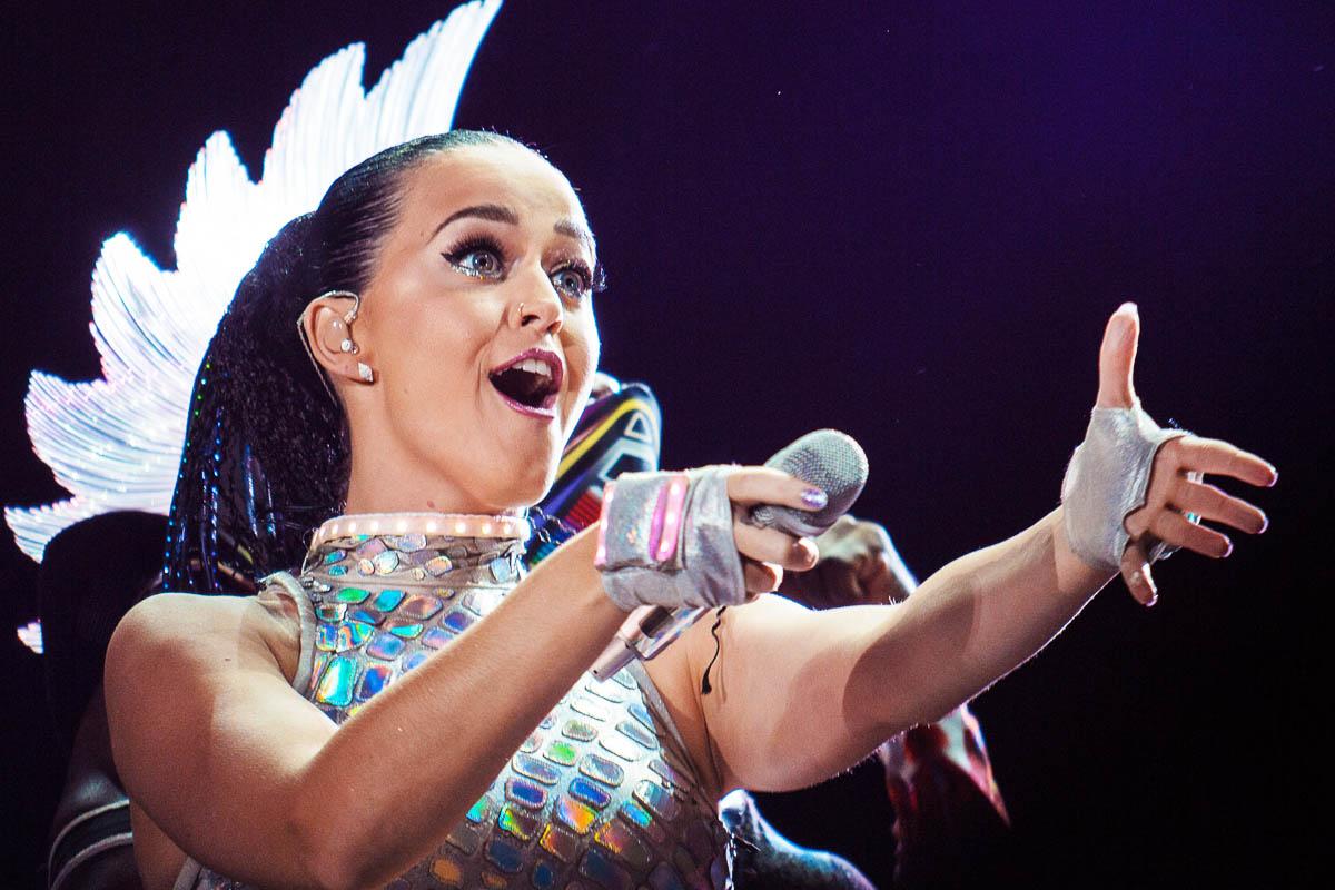 Katy Perry se ha convertido en la artista con más ganancias este año (Foto: Getty)