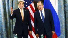 John Kerry y Sergei Lavrov, durante las conversaciones sobre Siria. (Foto: Reuters)
