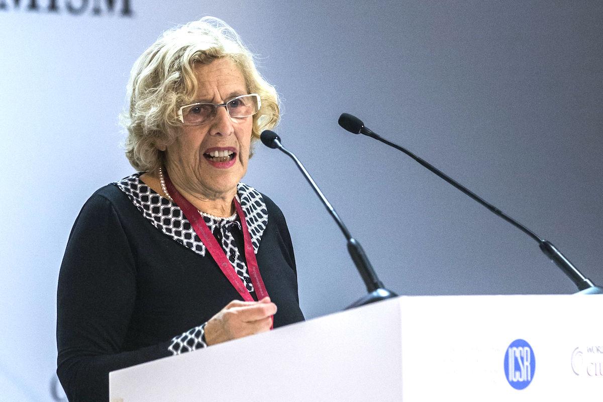 La alcaldesa de Madrid, Manuela Carmena. (Foto: EFE)