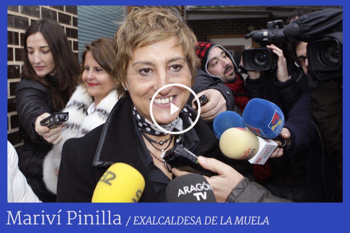 La ex alcaldesa de La Muela (Zaragoza), Mariví Pinilla, imputada por corrupción en el caso Molinos