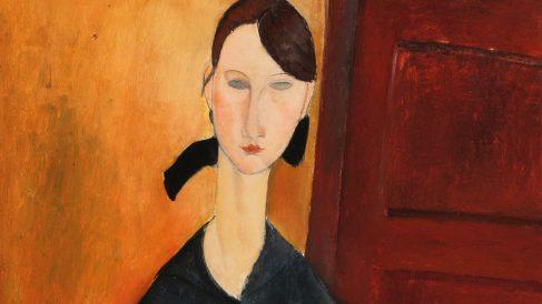 Paulette Jourdain, de Modigliani.