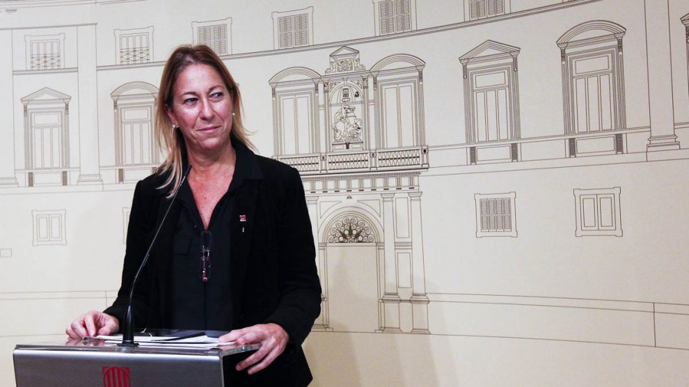 Neus Munté, vicepresidenta en funciones de la Generalitat (Foto: EFE)