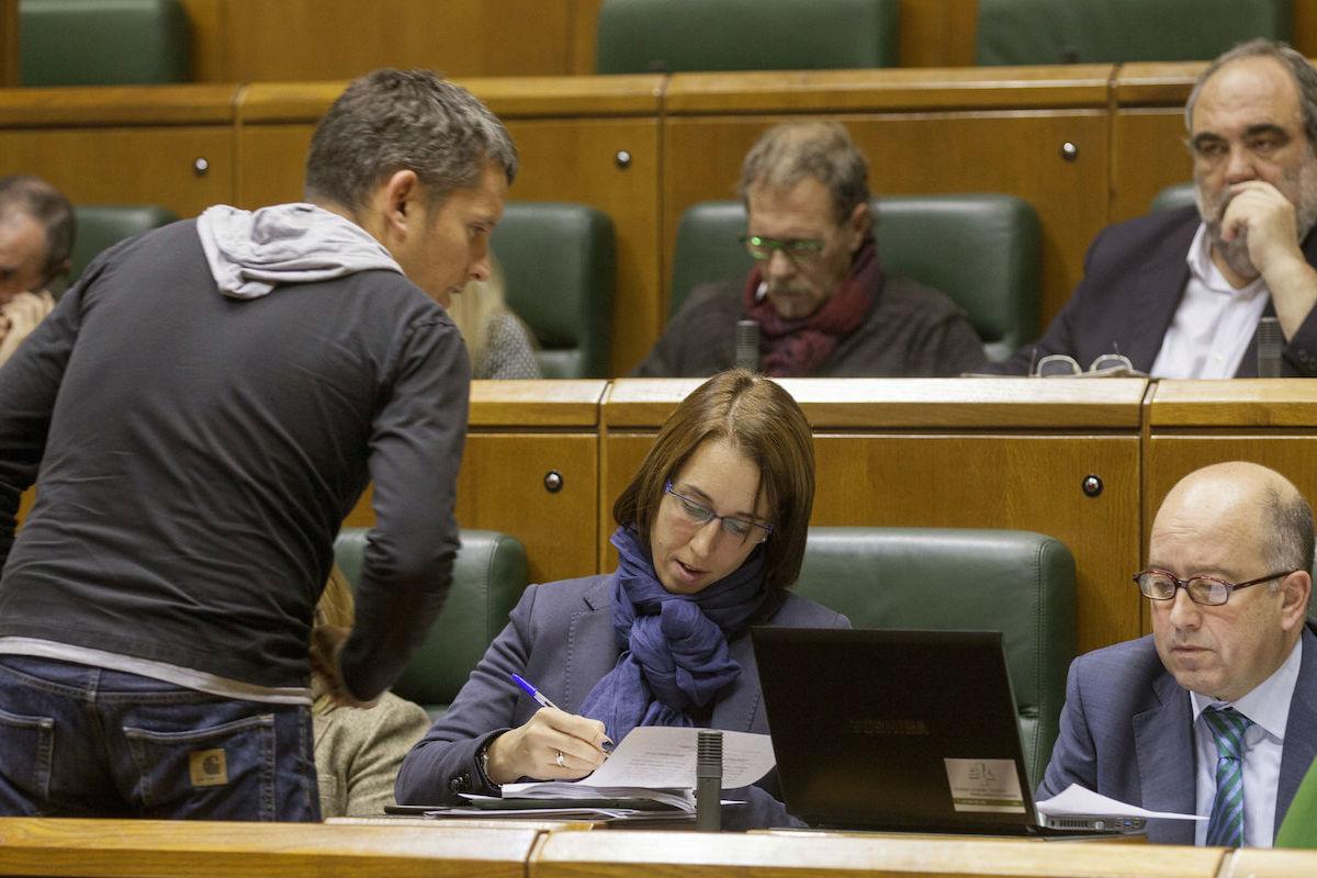 Parlamentarios-Bildu (Foto:EFE)